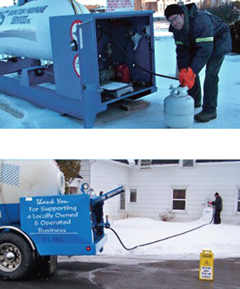 Propane Trucks Delivery